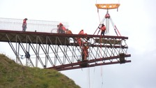 Construction of £4m Tintagel Castle bridge begins