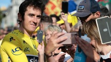Geraint Thomas has been forced to  pull out of the Tour de Suisse.