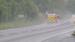 A man has been rearrested in connection with a series of incidents where vehicles were damaged by objects being thrown on the Norfolk/Suffolk border.