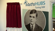 Family of Alan Turing launch renamed maths hub