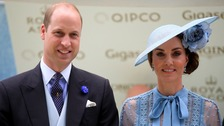 Woman injured in collision with Kate and William's convoy