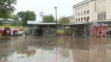 Council 'secures' Bristol's Bearpit roundabout from squatters