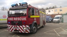 Protests at Devon and Somerset Fire Service plans to close stations