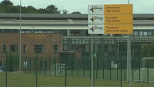 Teachers strike at landfill site school after four develop cancer