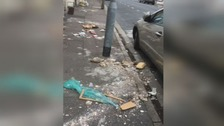 Cardiff residents complain of 'horrific' streets covered in litter