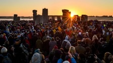 Thousands celebrate the Summer Solstice across the West Country