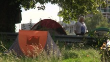 """Plan for a """"Tent City"""" to solve rough sleeping crisis in Northampton"""