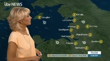 Here's Emma Jesson with the latest weather