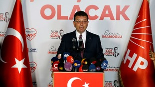 Opposition candidate Ekrem Imamoglu wins Istanbul mayoral election for second time