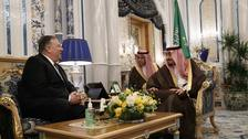 Pompeo jets in for Saudi talks as more Iran sanctions loom