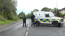 West Belfast bomb linked to dissident campaign