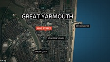 Man stabbed during mass brawl in Great Yarmouth