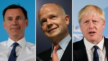 William Hague has made his choice clear.