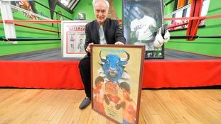 Boxing club owner selling historic collection to 'save  gym' that keeps kids off the street