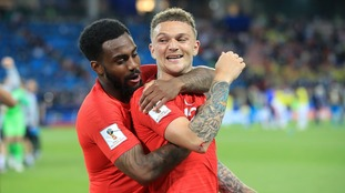 Danny Rose and Kieran Trippier