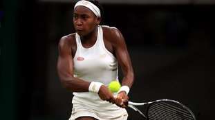 Cori Gauff battled her way past Magdalena Rybarikova to make it into the third round of Wimbledon.