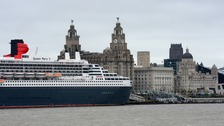 The Queen Mary 2 in Liverpool in 2015.