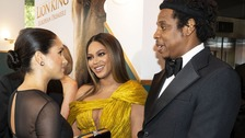 Harry and Meghan join Beyonce and Jay-Z at Lion King premiere