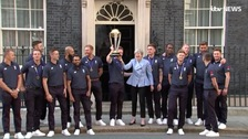 England's cricket heroes celebrate World Cup win at Number 10 after party with fans at the Oval