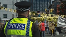 Police defend approach to Extinction Rebellion protest in Leeds