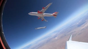 Virgin Orbit has successfully tested the modified Boeing 747 aircraft known as 'Cosmic Girl'.