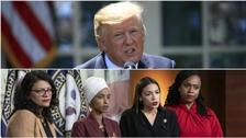 US House votes to condemn Donald Trump's 'racist' tweets