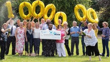 Kelso tech firm celebrates £1m lottery win