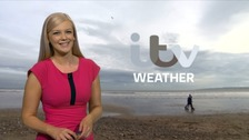Wales weather: Clouding over with showery outbreaks of rain