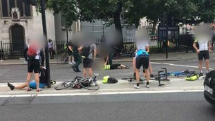 Exclusive: Cyclist injured in Parliament car attack 'too frightened' to get back on a bike ever since