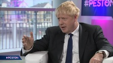 Johnson's 'first job as PM' is to dish out no-deal Brexit warnings