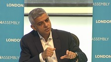 Sadiq accuses Theresa May of 'letting down'  Grenfell victims