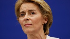 Von der Leyen: No-deal's 'massively negative consequences'