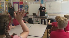 Welsh rapper brought into schools to help boost language skills