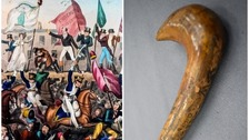 Rare Peterloo cane from 1819 goes on show
