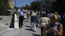 People run into streets as 5.3-magnitude earthquake hits Athens