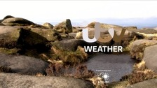 Cloudy skies, possible showers then sunny periods