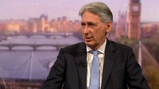 Chancellor says he will resign if Boris Johnson becomes PM