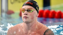 Adam Peaty wins the world 100m breaststroke title for the third time