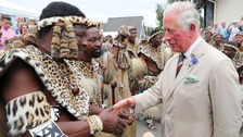 Prince Charles meets Zulu royals at Royal Welsh Show