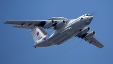 A Russian Beriev A-50. (file photo)