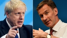 Boris Johnson and Jeremy Hunt await result as Tories prepare to name new leader