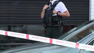 Police are investigating the shooting in west Belfast