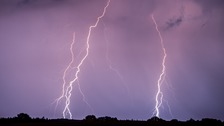 Warning of delays and power cuts as thunderstorms forecasted