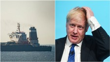 Boris Johnson is an impossible position over Iran.