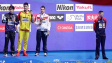 British swimmer refuses to share podium with 'drug cheat' Sun Yang