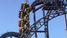 Riders suspended for 20 minutes as Smiler stops 100ft up
