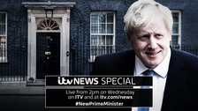 Watch live as Boris Johnson becomes the new prime minister