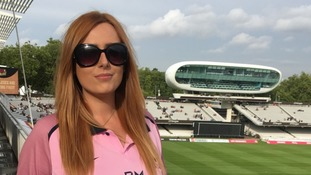 Irish fan Laura Caughey's love of cricket was partially inspired by England's success.