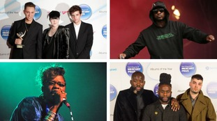 The xx (top left), Skepta (top right), Speech Debelle (bottom left) and Young Fathers (bottom right) have all won the Mercury Prize.