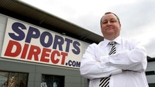 Mike Ashley, Sports Direct's chief executive, was due to update the City on Friday morning